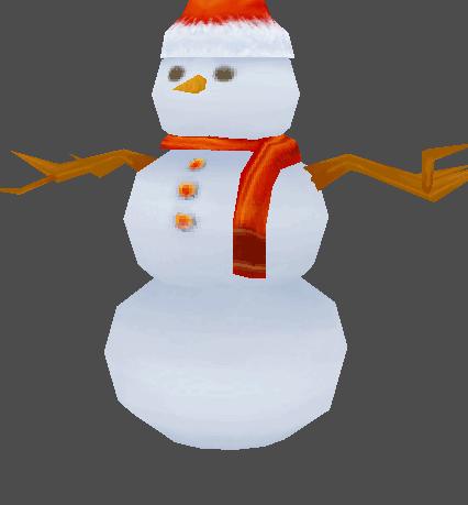 Snowman NPC