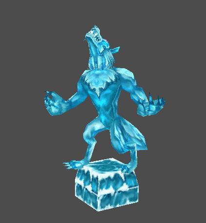 Kara's Statue