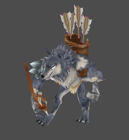 GW - Blue Wolf Archer