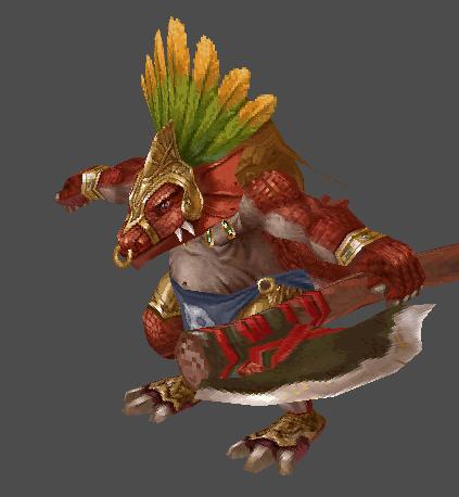 Lizardman Commander