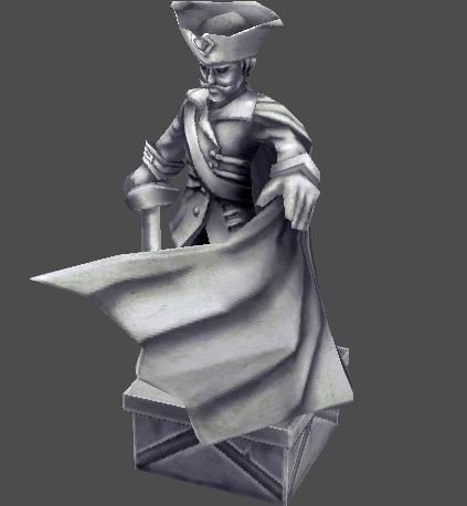 Petrified Navy God