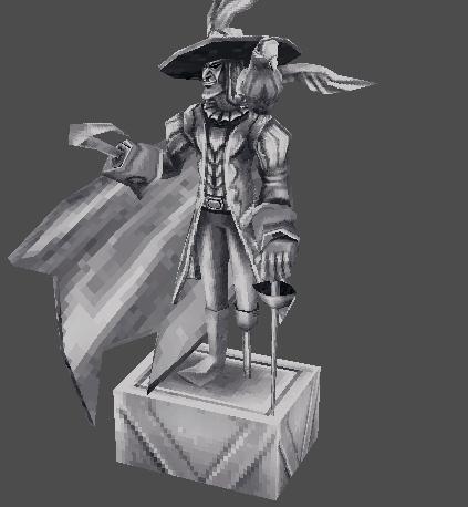 Petrified Pirate God