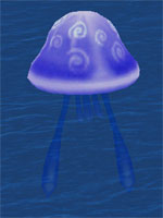Swift Cyclonic Sea Jelly