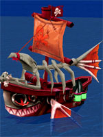 Beardy Pirate Command Ship