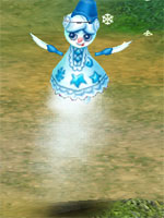 Evil Snow Doll Spirit