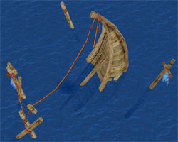 Sunken Merchant Ship
