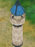 Advance Blue Tower