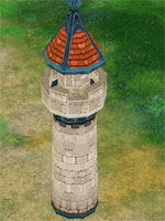 Advance Red Tower