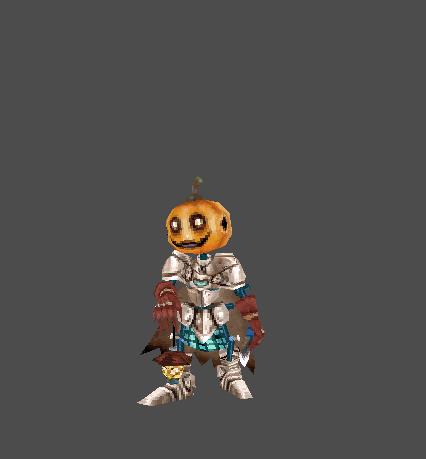 Pumpkin Death Warrior